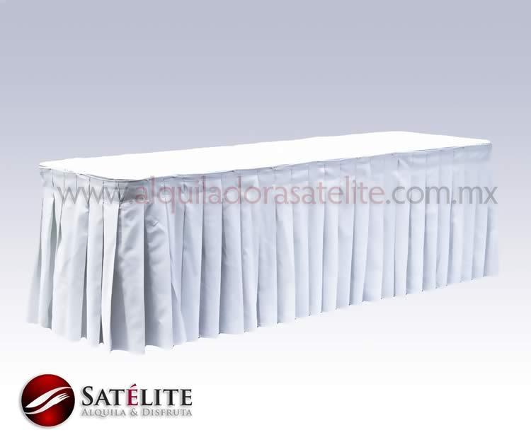 Bambalina blanca de 7 metros