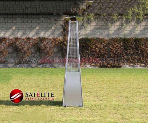Calentador ambiental con tubo de cristal