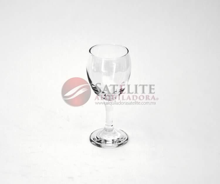 Copa vino blanco tallo corto