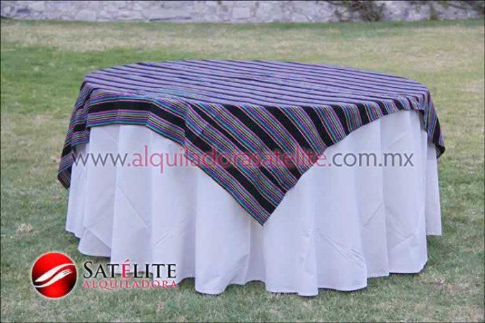 Mantel redondo manta cambaya