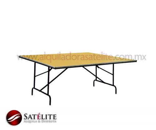 Mesa cuadrada de 180 cm para 12 personas