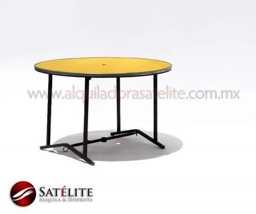 Mesa redonda de 120 cm para 8 personas
