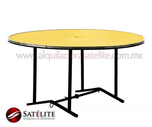 Mesa redonda de 150 cm para 10 personas
