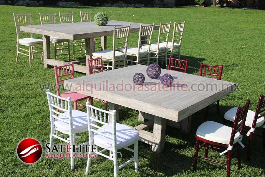 Mesas vintage y sillas Tiffanny infantiles