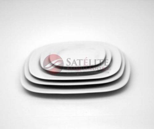 Platos cuadrados Mkm de 32, 29, 27, 21 y 16 cm